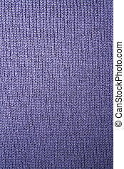 Background of knitted wool