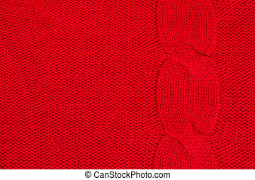 sweater texture - background of knitted woolen green sweater...