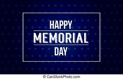 Background of memorial day style collection