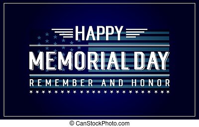Background of memorial day theme
