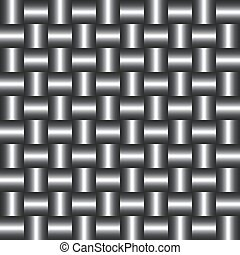 Background of metal squares.
