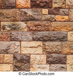 Background of modern stone wall