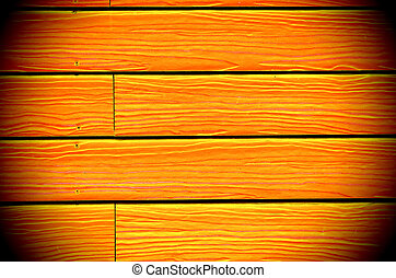 background of new yellow painted wood