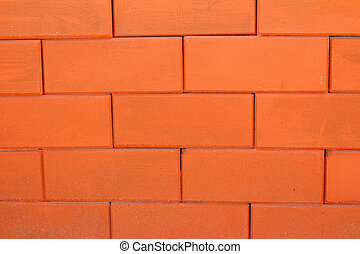 Background of old red bricks.