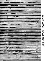 background of old rotten wooden shutterblind