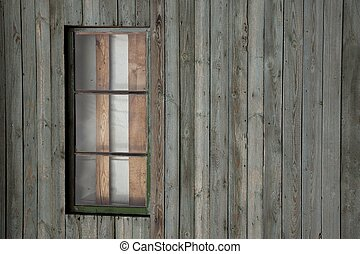 Background of old wall with window