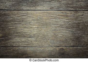 Background of old wood - fornt shot. the arrangement of the ...