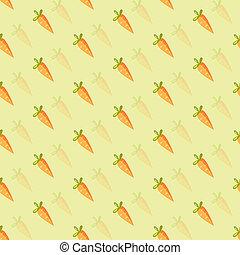 background of orange carrots