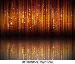 Background of orange lines - Background of vertical orange...