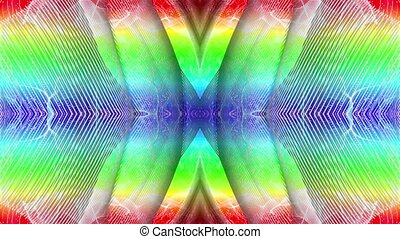Background of rainbow colored lines