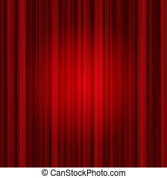 background of red Drapes curtain