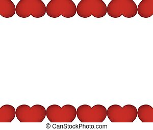 Background of red hearts on the day the holiday Valentine s