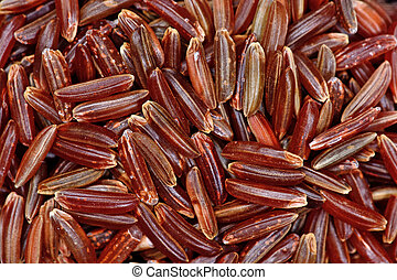 Background of red rice