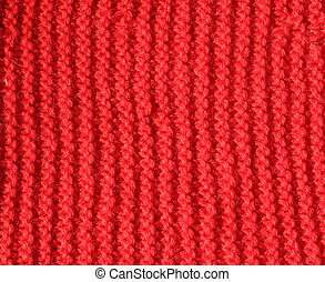background of Red wool