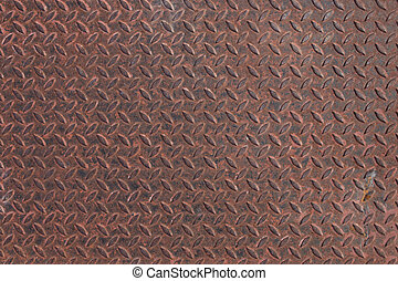 Background of rust metal plate