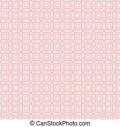 Background of seamless pink geometric pattern