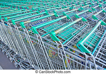 background of shopping Department store