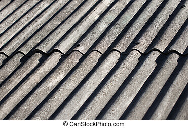 background of slate roof