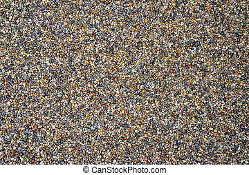 background of small pebbles, color mosaic