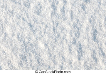 background of snow in nature