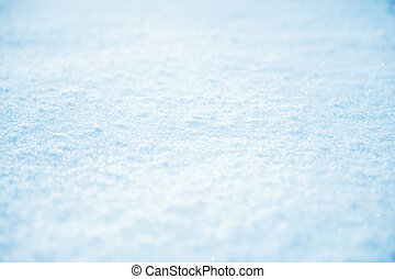 background of soft snow