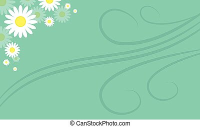 Background of spring style collection stock