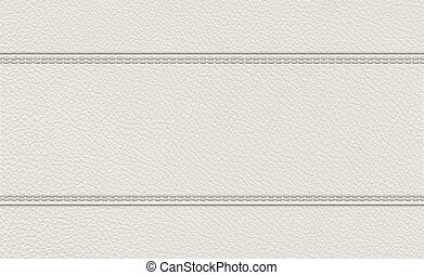 background of stitched leather texture - background of light...