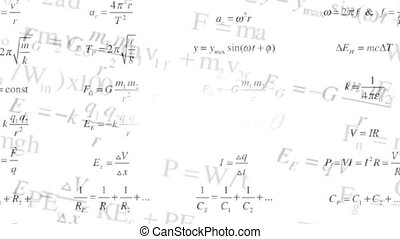 Background of the changing physical formulas. Science