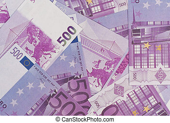 Background of the euro banknotes