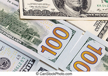 background of the money. Dollars