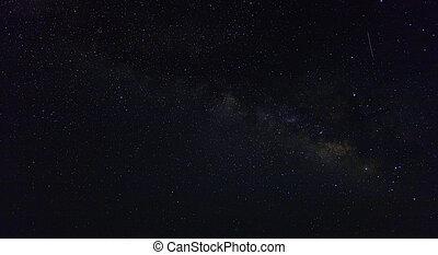 background of the night starry sky, milky way