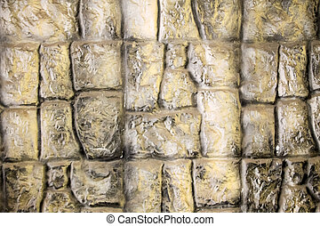 Background of the stone wall