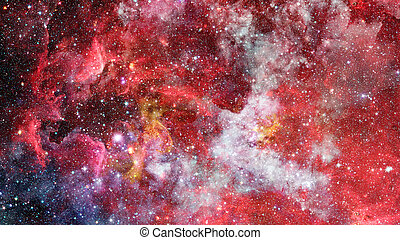 Background of the universe. Elements of this image furnished by