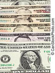 Background of U.S. dollars