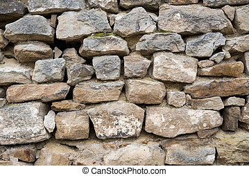 background of wall with stone