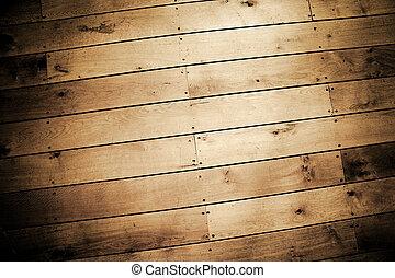 background of weathered wood floor panels