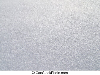 background of white snow