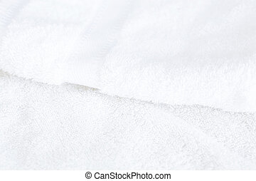 background of white towel