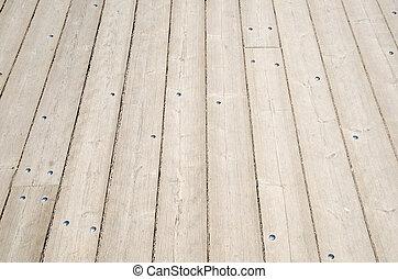 Background of wooden plank floor
