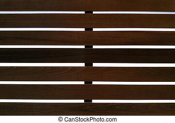 Background of wooden slats.