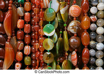 colour beads of different form - Background ofcolour beads ...