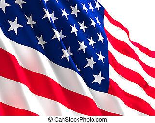old glory - background og usa flag old glory