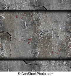 background old concrete wall with cracks texture wallpaper
