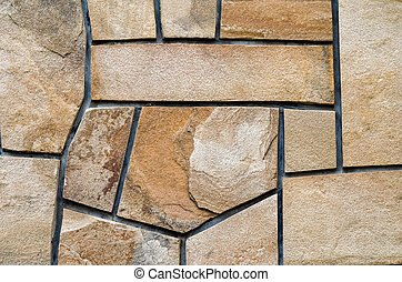 background old stone wall with abstract pattern