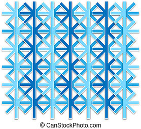abstract snowflake pattern