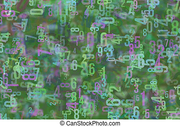 Background or backdrop, shape pattern, good for design texture. Wallpaper, artwork, abc & blur.