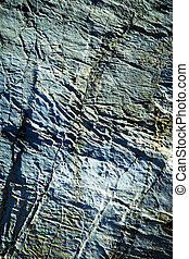 abstract blue surface limestone rocks