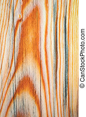 abstract color on a wooden board
