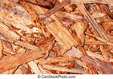 abstract detail on wood chipboard