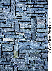 natural stone tiles with blue tone colors